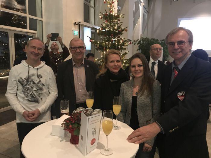 Anton Lamboj, Gerhard Gabler. Katja Wolf, Melanie Kalina und Andreas Huschka (v.l.n.r.)